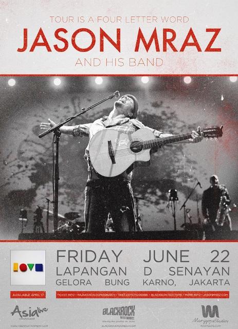 Jason Mraz - Tour Is A Four Letter Word
