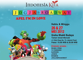 Jogja Brodway Theatre - Apple Im In Love