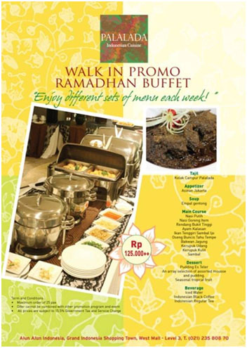 Palada Walk In Promo Ramadhan Buffet