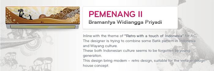 Pemenang II LG Design Competition Kategori AC - Bramantya Widiangga Priyadi