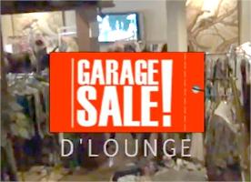 Garage Sale D'Lounge at Gunawarman