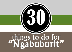 "30 Things to do for ""Ngabuburit"""
