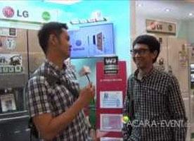 LG Home Sweet Home Exhibition Jakarta 2012 Rinaldo Sibuea