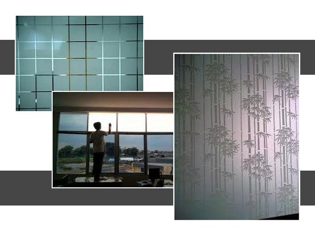 Sistem Memasang Kaca Film pada Jendela Rumah