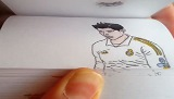 Cristiano Ronaldo in a Flipbook