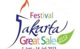 jakarta great sale festival 2013