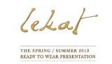 lekat springsummer 2013