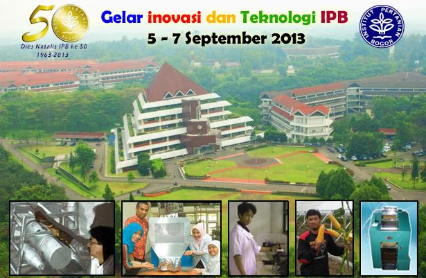 Gelar Inovasi dan Teknologi IPB