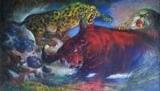 Pameran Tunggal Lukisan Augustin Sibarani