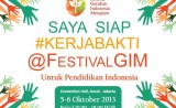 Kerja Bakti di Festival Gerakan Indonesia Mengajar