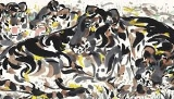 Abstract Art by Wu Guanzhong pic