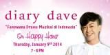 Diary Dave Fenomena Drama Musikal di Indonesia Di Cosmopolitan FM