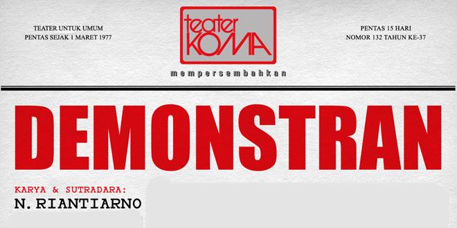 Teater Koma - Demonstran