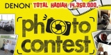 Denon Photo Contest - Total Hadiah 14 Juta