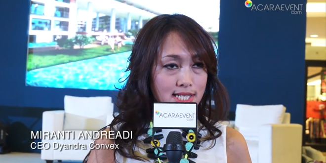 Interview Dengan Ceo Dyandra Convex Di Pameran Golden Tulip