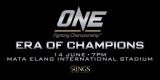 Pertandingan One FIghting Championship 2014 Di Jakarta
