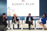 Suasana Konferensi Pers Pameran Properti Golden Tulip 2014