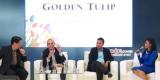 Suasana Konferensi Pers Pameran Properti Golden Tulip