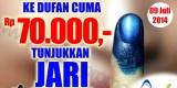 promo pemilu DUfan masuk 70000