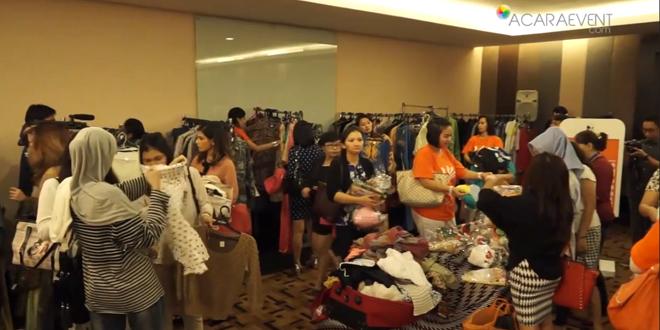 Kemeriahan Bazaar Pun - Cintai Anak Indonesia