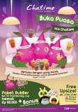 Paket Bukber Chatime - Hemat Rp 80000 dan Bonus Bantal Kakaotalk 2014