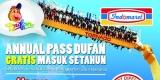 Promo Annual Pass Dufan - Gratis Masuk Setahun