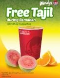 Promo Ramadan Wendy's - Free Tajil 2
