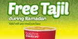 Promo Ramadan Wendy's - Free Tajil