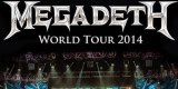 Megadeath World Tour 2014