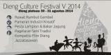 Dieng Culture Festival V 2014