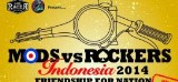 Mods Vs Rockers Indonesia 2014 – Friendship For Indonesia