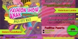 Lomba Fashion Show Anak 2014