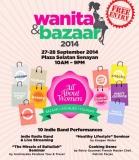wanita dan bazaar 2014 2