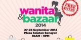 wanita dan bazaar 2014
