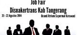 Job Fair Disnakertrans Kab.Tangerang 2014