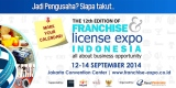 Franchise and License Expo Indonesia 2014