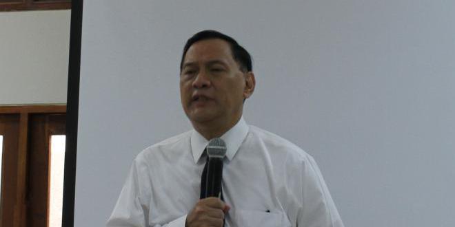 Gubernur BI Marto Wardjojo Berbagi Pengalaman di SMA Pangudi Luhur