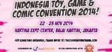 Pameran Toy, Game, dan Komik akan Menghebohkan Indonesia