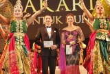 Meriahnya Malam Puncak Gebyar Budaya 2014 di Monas