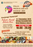 Pekan Produk Kreatif Daerah 2014 DKI Jakarta