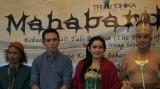 press conference Wayang Wong Mahabandhana
