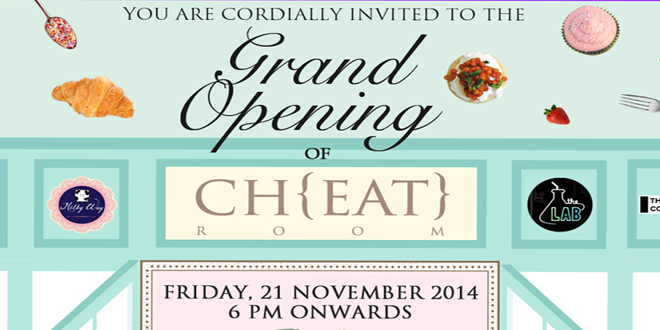 Grand Opening CH{EAT} ROOM by Market & Museum