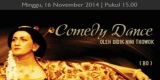 Pertunjukan Comedy Dance oleh Didik Nini Thowok