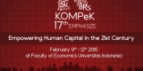 "Kompek 17th Emphasize ""Empowering Human Capital in the 21st Century"""
