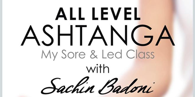All Level Ashtanga with Sachin Badoni