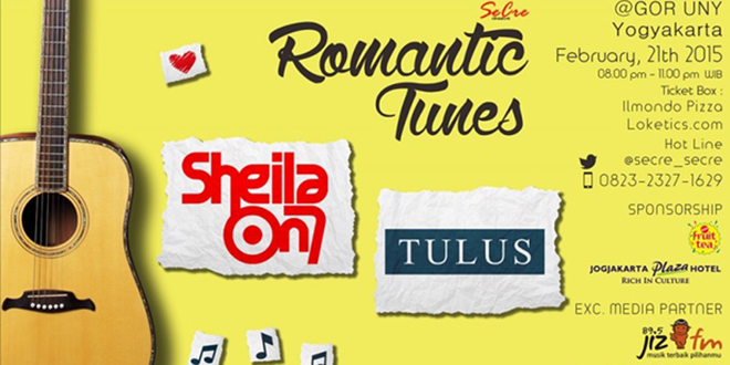 Romantic Tunes with Sheila On 7 dan Tulus