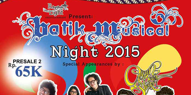 Batik Musical Night 2015