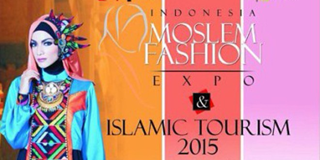 Indonesia Moslem Fashion Expo 2015