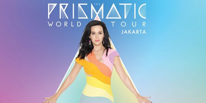 "Konser Katy Perry ""The Prismatic World Tour"""