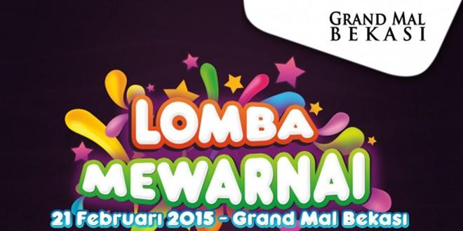 Lomba Mewarnai di Grand Mal Bekasi